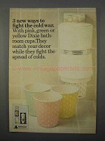 1966 Dixie Cup Ad - Fight The Cold War