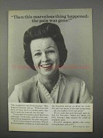 1966 Excedrin Tablets Ad - The Pain Was Gone!