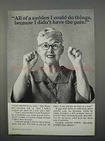 1966 Excedrin Tablets Ad - I Could Do Things