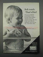 1966 Dial Soap Ad - Soft Touch