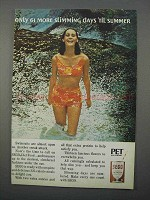 1966 Pet SEGO Diet Food Ad - 61 More Slimming Days