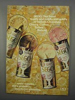1966 Pet SEGO Diet Food Ad - Chocolate, Cherry, Coffee