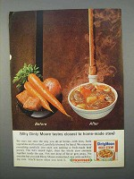 1966 Dinty Moore Beef Stew Ad