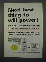 1966 Sunkist Lemons Ad - Next Best Thing to Will Power