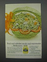 1966 Hellmann's Mayonnaise Ad - Real Cool Coleslaw