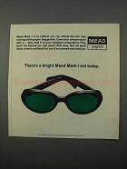 1966 Mead Mark I Paper Ad - Bright Mead Mark I Out