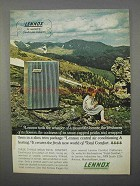 1966 Lennox Air Conditioning Ad - Mountain Breeze