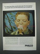 1966 Philco Color TV Ad - Best In The Business