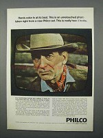 1966 Philco Color TV Ad - Color TV At Its Best