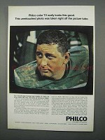 1966 Philco Color TV Ad - Really Looks This Good