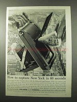 1956 Polaroid Land Camera Ad - Capture New York