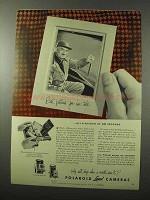 1953 Polaroid Pathfinder Model 110 & Model 95 Camera Ad