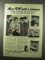 1950 Polaroid Land Camera Ad - More Fun With
