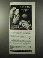 1959 Mamiya Automatic 16 Camera Ad - All Over the World