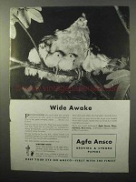 1943 Agfa Ansco Brovira & Cykora Papers Ad - Wide Awake