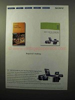 2001 Sony Digital Imaging Products Ad, Required Reading
