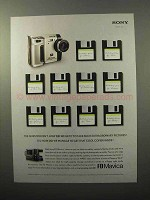 2001 Sony FD Mavica Camera Ad - Cool Copier