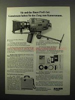 1979 Bauer A 512 Super 8mm Movie Camera Ad - in German