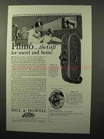 1928 Bell & Howell Filmo 70 and 75 Movie Cameras Ad - The Gift