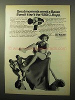 1970 Bauer C-Royal Movie Camera Ad - Great Moments
