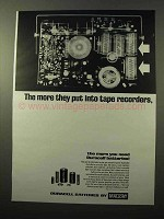 1969 Mallory Duracell Batteries Ad - The More They Put