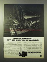 1969 GAF Sawyer's Rotomatic 747AQZ Slide Projector Ad