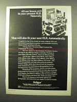1969 Soligor T4 System Lenses Ad - Fit Your SLR