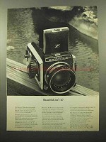 1963 Zenza Bronica S Camera Ad - Beautiful, Isn't It?