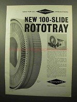 1963 Sawyer's RotoTray Slide Tray Ad - For Projectors