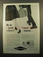 1962 Sawyer's Slide Projector Ad - Comparing