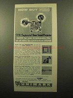 1961 Eumig P8M Imperial 8mm Sound Projector Ad