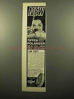 1961 Tiffen SR Polarizer Filter Ad - For All Reflexes