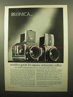 1961 Bronica S and Deluxe Cameras Ad - Another Great