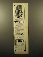 1960 Yashica 44LM Camera Ad - Get Perfect Pictures