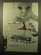 1960 Sylvania Blue Dot Flash Bulbs Ad - Photo Album