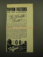 1960 Tiffen Filters Ad - The World's Finest!