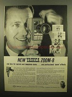 1959 Yashica Zoom-8 Movie Camera Ad!
