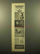 1959 Walz Ad - Norwood Exposure Meter, Movie Meter