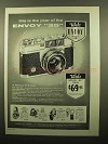1959 Walz Envoy 35 Camera Ad - This is The Year