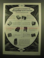 1959 Sawyer's Slide Viewers, Binoculars & Camera Ad