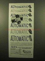 1959 Alpa Cameras and Lenses Ad - Alpa Automatic!