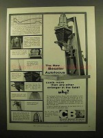 1959 Beseler 45AF Enlarger Ad - The New Autofocus