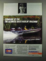 1985 Evinrude XP150 Outboard Motor Ad - The Ultimate