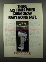 1979 Evinrude 35 Outboard Motor Ad - Slow Beats Fast