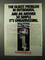 1979 Evinrude 15 Outboard Motor Ad - Answer Simple