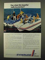 1969 Evinrude Rogue II and Sport Fisherman Boats Ad