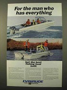 1966 Evinrude Sportsman Boat Ad - Has Everything