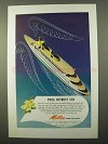 1945 Matson Lines Cruise Ad - Trail Without End