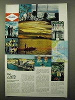 1966 Grace Line Cruise Ad - With Grace