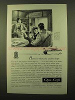 1931 Chris-Craft Family Cruiser Ad - Home is Anchor